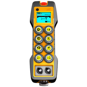 radio remote control / 8-button / with configurable buttons / IP65