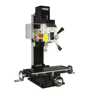 vertical drilling and milling machine / bench-top / variable speed / single-spindle