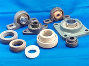 flange bearing unit / ball bearing / plastic