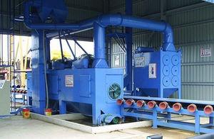 roller shot blasting machine