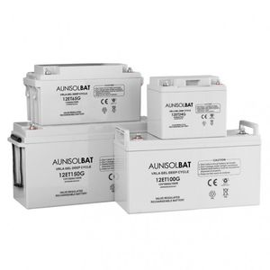 VRLA battery / rectangular / 12 V / deep cycle