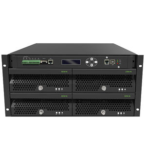 modular UPS / double-conversion / single-phase / AC
