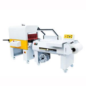 semi-automatic shrink wrapping machine