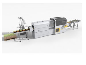 bottle complete packaging line / beverage / pot / for cans