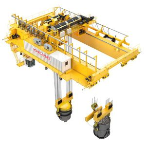 double-girder overhead traveling crane