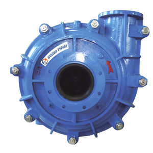 slurry pump / centrifugal / for wastewater treatment / for the metallurgical industry