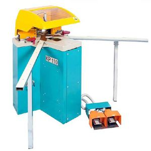 aluminum profile corner crimping machine / automatic / pneumatic / foot-operated
