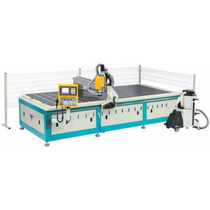 3-axis machining center / vertical / bridge / for aluminum