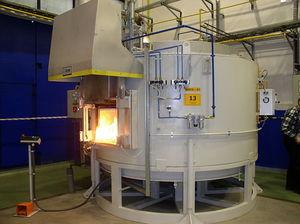 preheating furnace / chamber / gas / electric