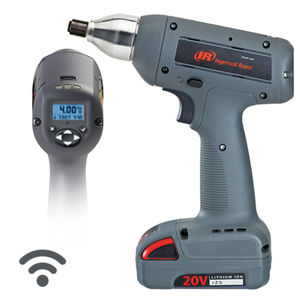 cordless electric screwdriver / pistol / impact / with wireless data transmission
