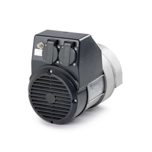 single-phase alternator / brushless / 2-pole / low-voltage
