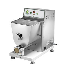 combined pasta machine with mixing hopper / with extruder / automatic