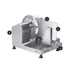 ham slicing machine / manual / vertical / tabletop