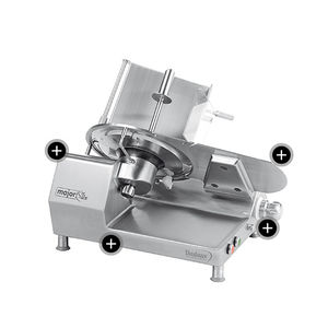 ham slicing machine / manual / gravity / compact