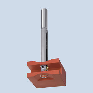 CNC machine deburring tool / metal / for countersinking / cross-hole