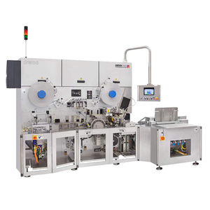 fold wrapping packaging machine / automatic / for chewing gum / high-speed