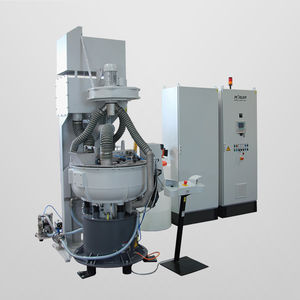 dry cleaning machine / semi-automatic / process / deburring