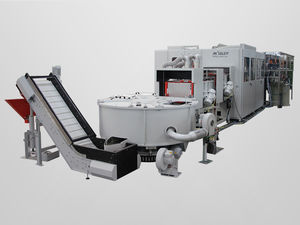 linear finishing machine