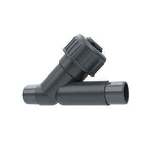 Y check valve