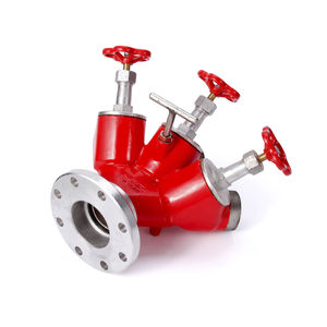ball valve / manual / aluminum / 3-way