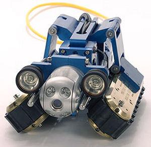 tracked inspection robot / waterproof / long-range / modular