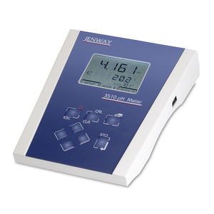 bench-top pH meter / process / with automatic temperature compensation / precision