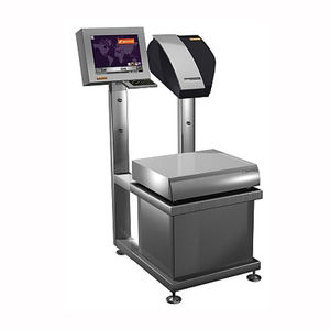 manual weighing-labeling machine