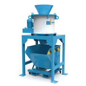 chip centrifuge / process / vertical