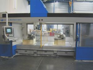 5-axis CNC milling machine / vertical / bridge / with fixed table
