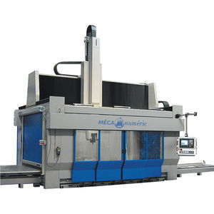 5-axis CNC machining center / universal / gantry / with fixed table