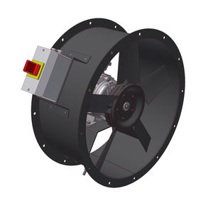axial fan / extraction / industrial