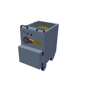 NBC (nuclear, biological, chemical) filtration unit / air / mobile