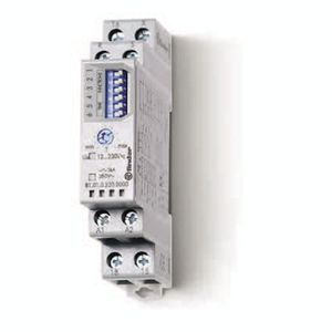 multi-function time relay / DIN rail mounted / for ventilation systems / for contactors