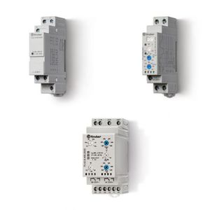 under-voltage monitoring relay / over-voltage / phase sequence / phase loss