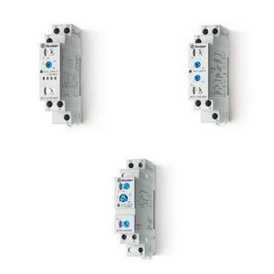 multi-function time relay / on delay / DIN rail mounted / for furnaces and ovens
