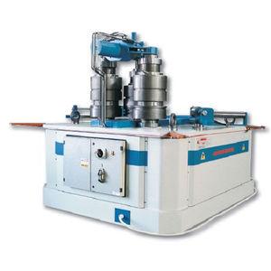 profile bending machine / hydraulic / 3 drive rollers / vertical