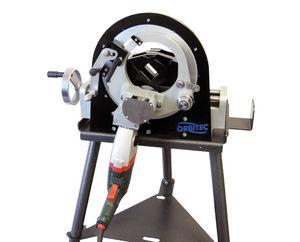 portable orbital tube-cutting machine
