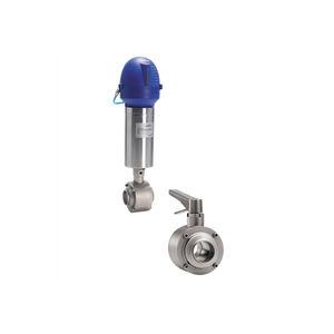 ball valve / manual / pneumatic / control