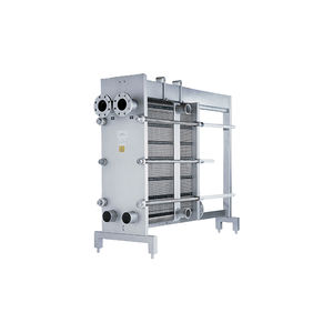 plate heat exchanger / liquid/liquid / sanitary / for pasteurization
