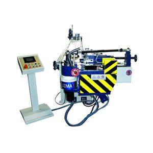 NC bending machine / hydraulic / for tubes / semi-automatic