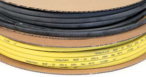 thermoplastic-insulated heating cable