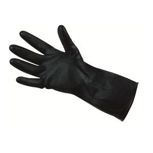 laboratory gloves / chemical protection / wear-resistant / polychloroprene resistant