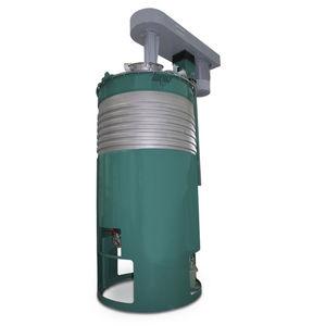 paddle mixer / batch / for liquids / vacuum