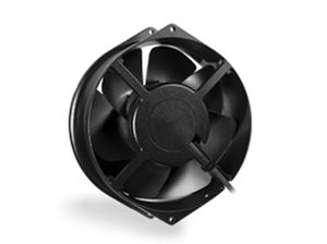 axial fan / cooling / for air circulation / high-temperature