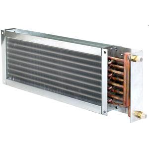 multi-tube heat exchanger / air/water / aluminum