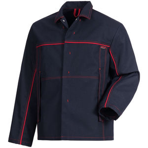 fire-retardant jacket / anti-static / fabric / for welding