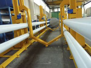hydraulic press / sealing / horizontal