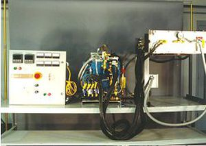 fire resistance testing furnace