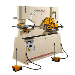 semi-automatic ironworker / hydraulic / bar / profile