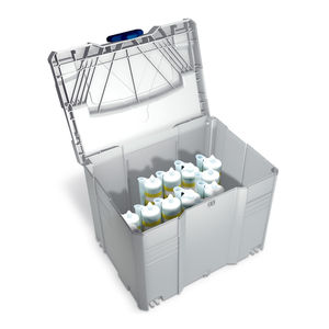 ABS crate / transport / protection / for bottles
